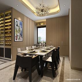 现代中式餐厅装修样板间