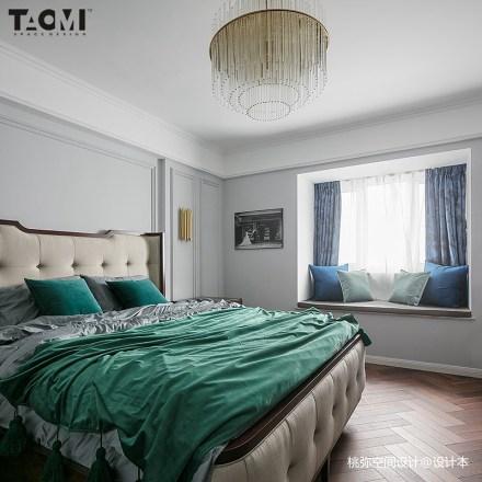 热门142平方四居卧室美式装饰图片大全卧室