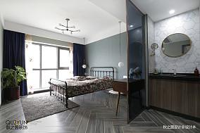 精美100平米三居卧室混搭装修欣赏图片大全