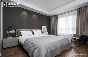 质朴119平现代三居卧室效果图片大全