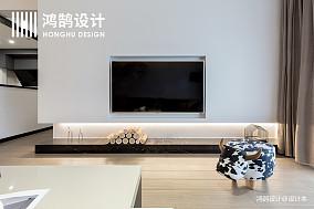 优美79平简约二居装饰图片二居现代简约家装装修案例效果图