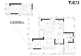 华丽119平中式四居实景图片四居及以上中式现代家装装修案例效果图