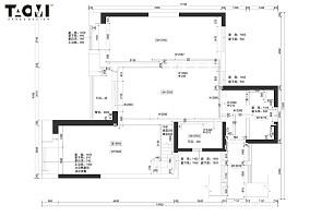 平中式四居装修图片四居及以上中式现代家装装修案例效果图
