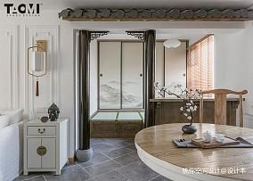 精选四居餐厅中式欣赏图四居及以上中式现代家装装修案例效果图