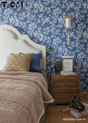 精美141平米四居卧室中式效果图片欣赏四居及以上中式现代家装装修案例效果图