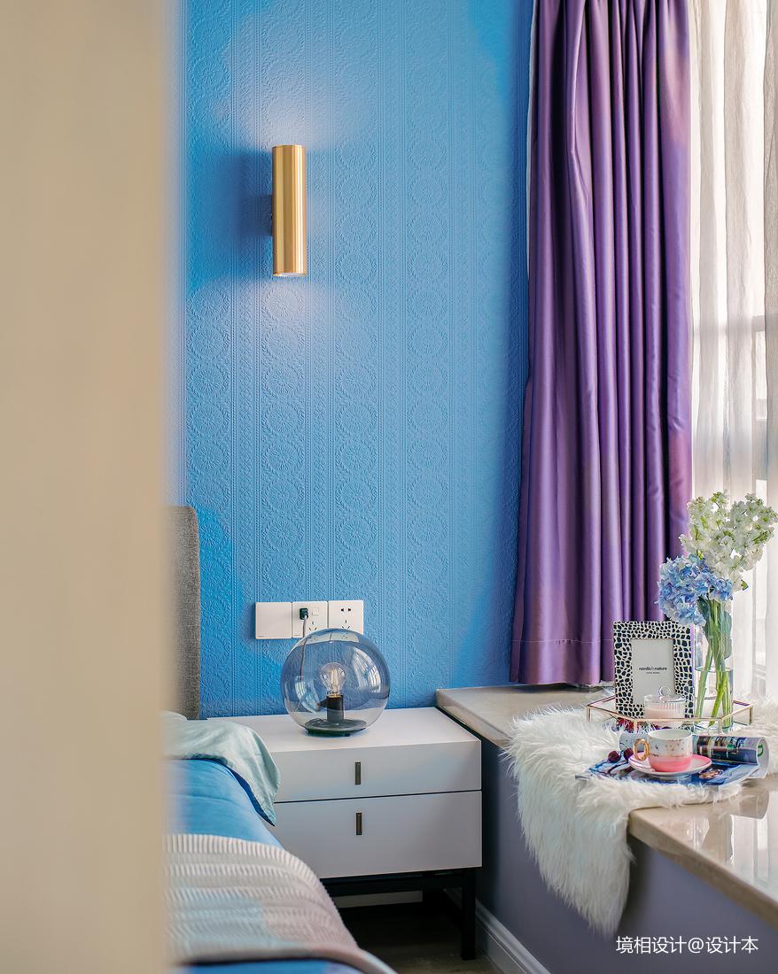 大客厅、中西厨、隐形门79m²简约风竟装出100m²即视感卧室现代简约卧室设计图片赏析