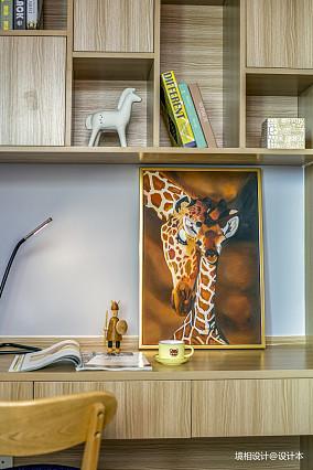 热门86平米二居儿童房简约装饰图片