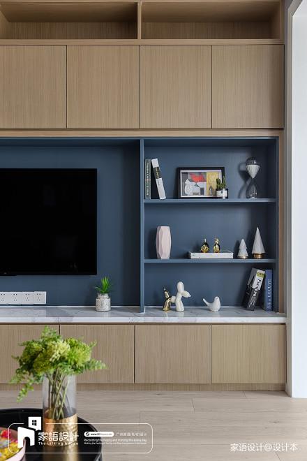 三居客厅北欧装修实景图片客厅