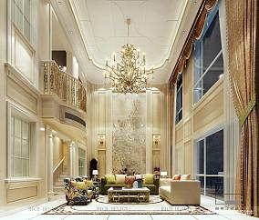 热门138平方欧式别墅客厅欣赏图片大全