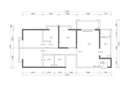 质朴74平北欧二居装修设计图