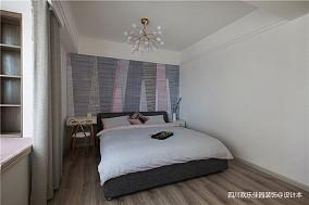 精美63平北欧二居卧室效果图二居北欧极简家装装修案例效果图