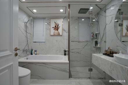 2018精选103平米三居卫生间现代实景图片卫生间