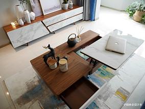 精选96平方三居客厅北欧装修图片大全