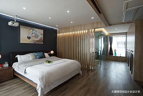 低奢居屋实景拍摄卧室4图潮流混搭设计图片赏析