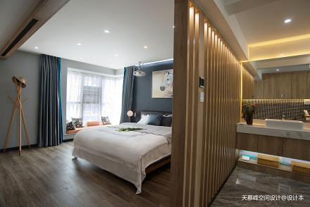 低奢居屋实景拍摄卧室