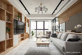 2018101平米三居客厅日式装修设计效果图片欣赏