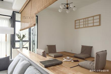 温馨98平日式三居休闲区装修图功能区