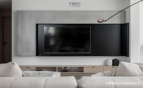 精选107平大小客厅三居现代装修实景图