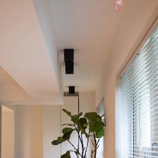 精选103平米三居阳台北欧装修效果图片大全