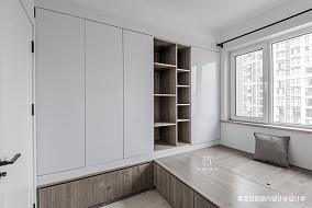2018面积101平现代三居卧室装修设计效果图片欣赏