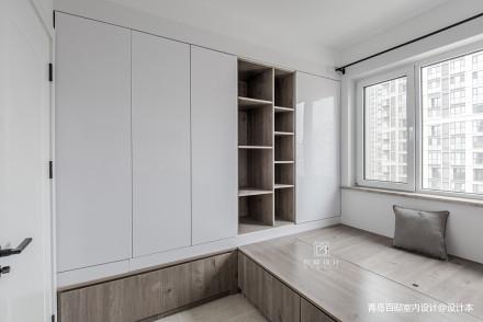 2018面积101平现代三居卧室装修设计效果图片欣赏卧室