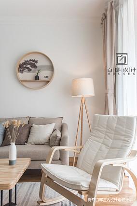 2018精选106平米三居客厅日式装修设计效果图片大全