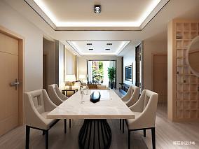精美面积92平现代三居餐厅欣赏图片大全