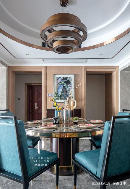 精美现代四居餐厅设计效果图厨房