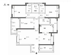 温馨134平美式四居装修案例四居及以上美式经典家装装修案例效果图