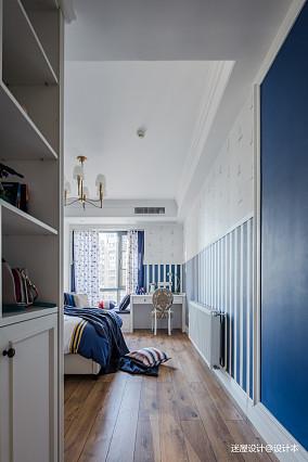 美式四居儿童房设计四居及以上美式经典家装装修案例效果图