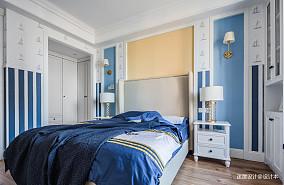 简洁132平美式四居儿童房装修案例四居及以上美式经典家装装修案例效果图