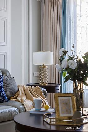 武汉四居室,软装犹如一杯鸡尾酒!四居及以上美式经典家装装修案例效果图