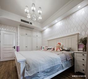 美式四居女孩房设计四居及以上美式经典家装装修案例效果图