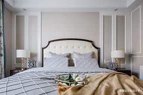 美式四居主卧设计四居及以上美式经典家装装修案例效果图