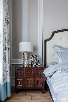 典雅118平美式四居卧室装修图片四居及以上美式经典家装装修案例效果图