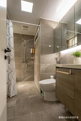 精美大小103平现代三居卫生间设计效果图卫生间现代简约设计图片赏析