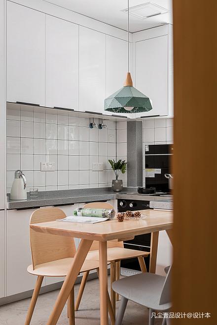 201932平北欧小户型厨房设计美图