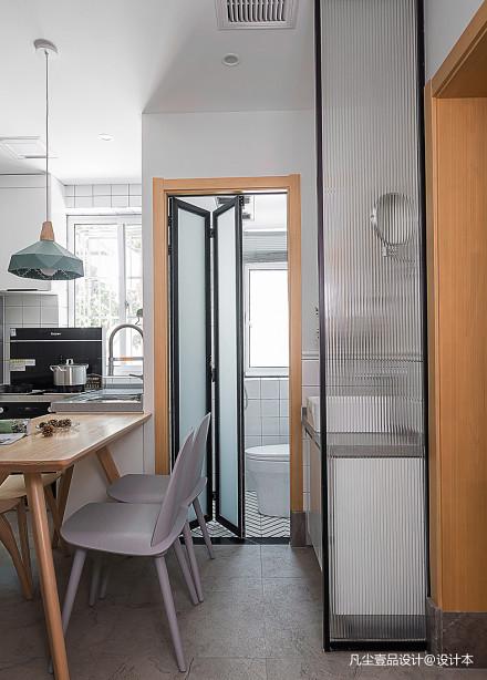 温馨33平北欧小户型客厅装修设计图