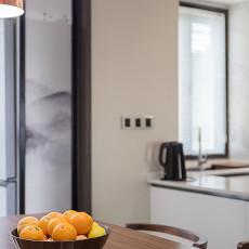 质朴100平混搭三居厨房实景图