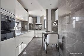 2018四居厨房现代设计效果图餐厅设计图片赏析