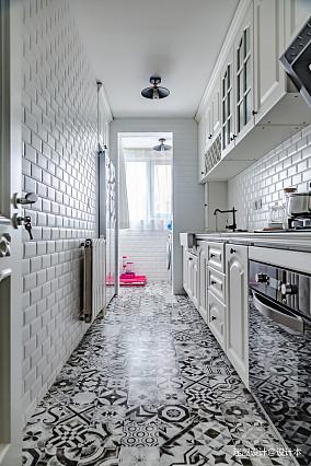 2018精选美式二居厨房装修效果图片欣赏