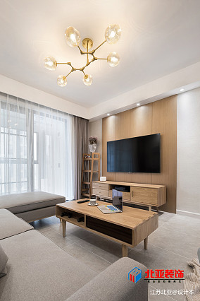 精选107平方三居客厅北欧效果图片欣赏客厅设计图片赏析
