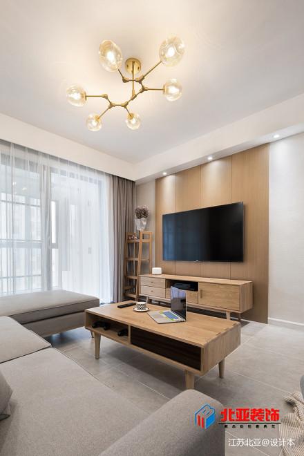 精选107平方三居客厅北欧效果图片欣赏