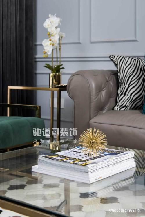 精选97平方三居客厅美式效果图片大全客厅茶几