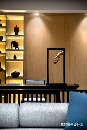 热门106平米三居休闲区中式装修图片欣赏