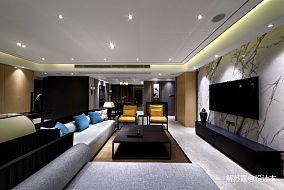 2018精选98平米三居客厅中式效果图