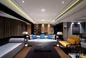 精选面积99平中式三居客厅装修设计效果图片欣赏