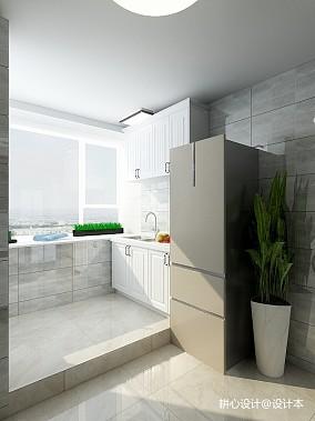 2018精选面积70平小户型厨房简约装修欣赏图片