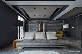 热门别墅客厅现代装修设计效果图片欣赏