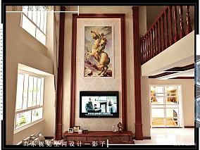 热门中式别墅客厅装修效果图片